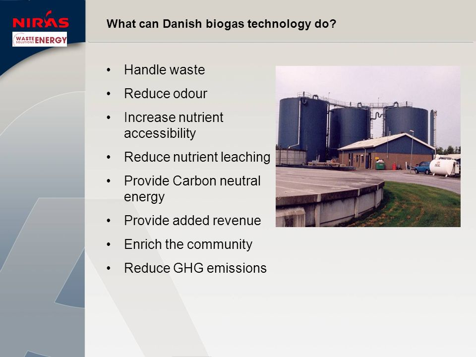 What can Danish biogas technology do.