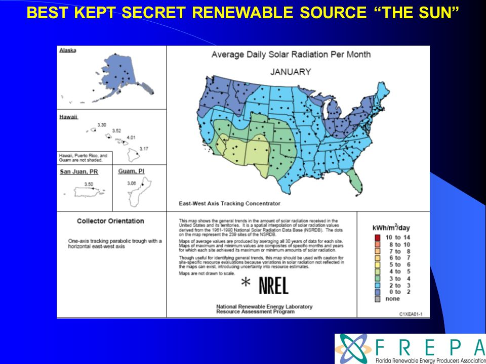 BEST KEPT SECRET RENEWABLE SOURCE THE SUN