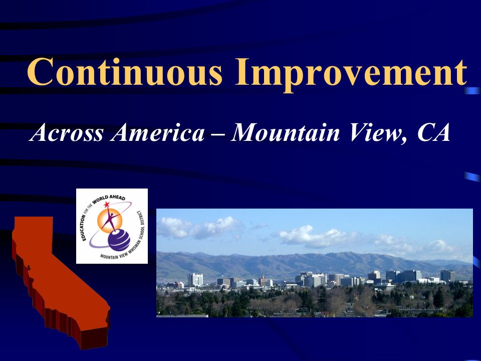 Continuous Improvement Across America – Mountain View, CA