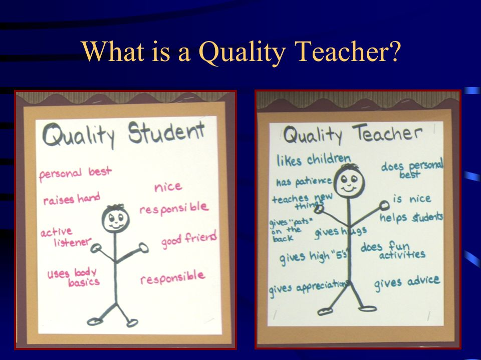 What is a Quality Teacher