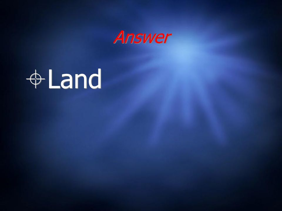 Answer Land