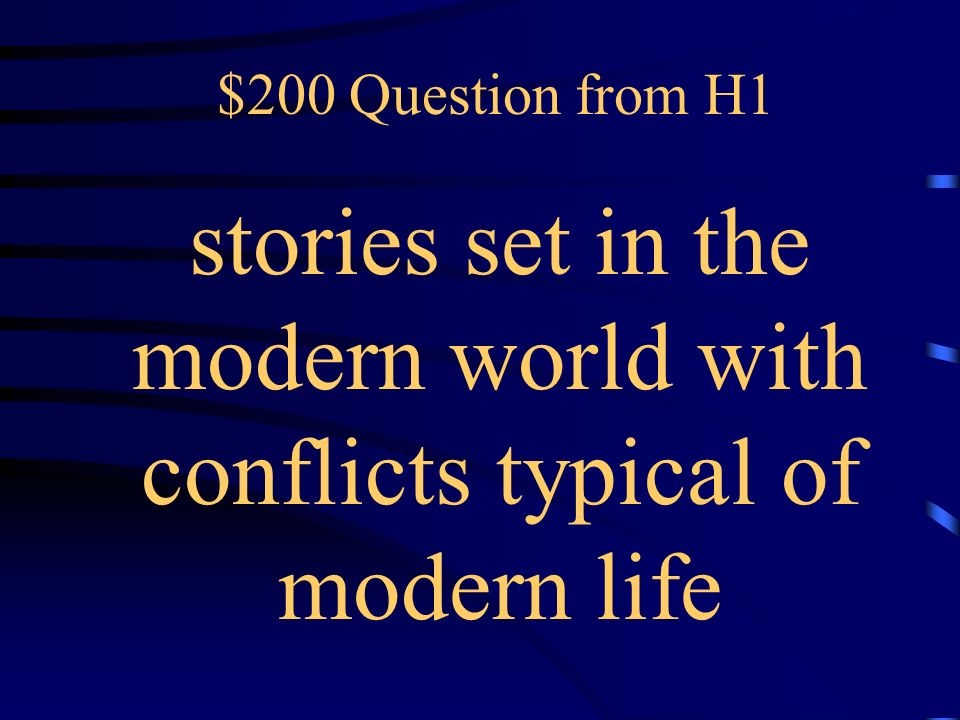 $100 Answer from H1 What is nonfiction