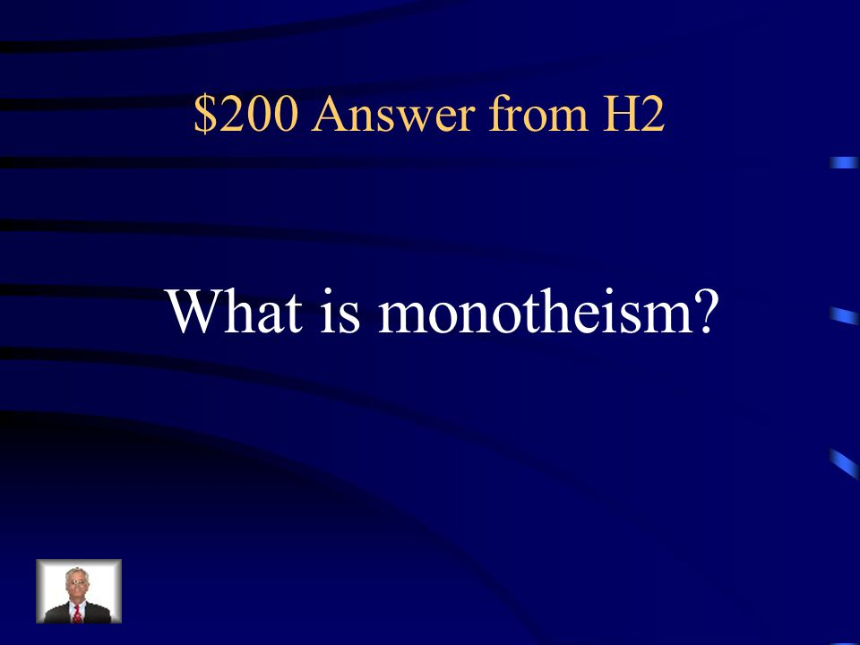 $200 Question from H2 Abraham taught the Israelites this.