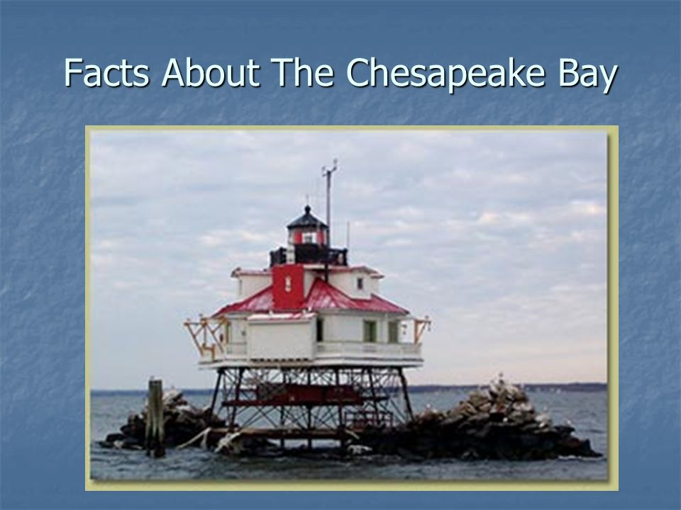 Facts About The Chesapeake Bay