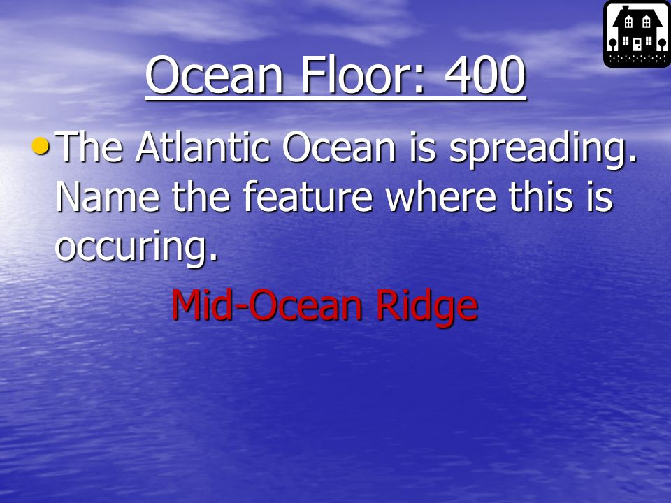 Ocean Floor: 300 _________ begins at the end of the continental slope.