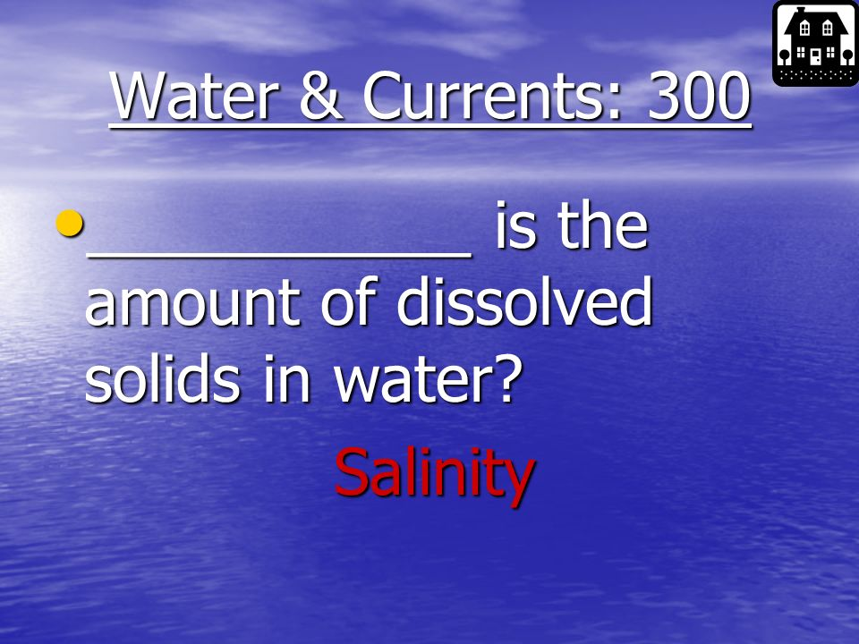Water & Currents: 200 What are the two most abundant elements in ocean water.