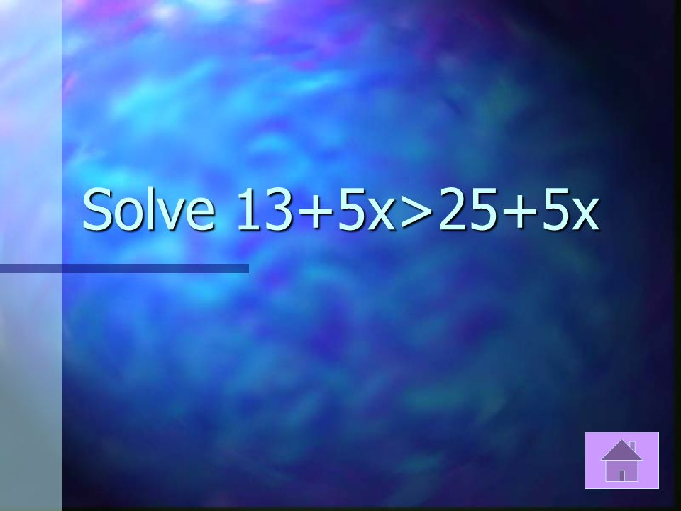 If X>8 or x>10 then name the solution.