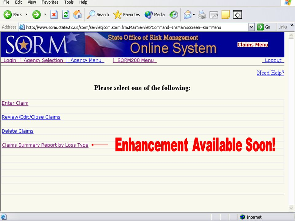 August 26, 2004 Risk Management User Group34