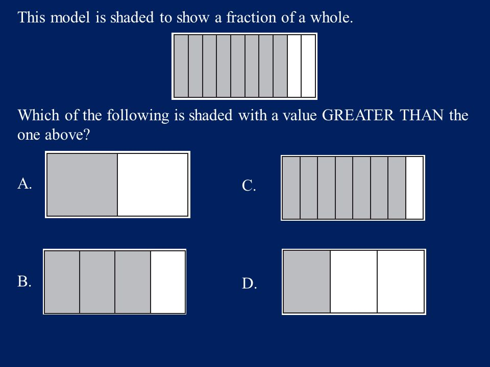 Answer: C. 0.41 Math – 60 points