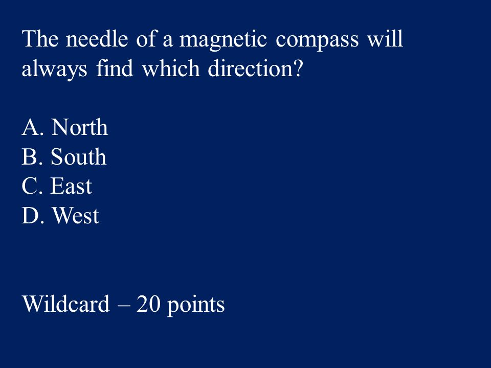 Answer: C. Asia Social Studies – 100 points