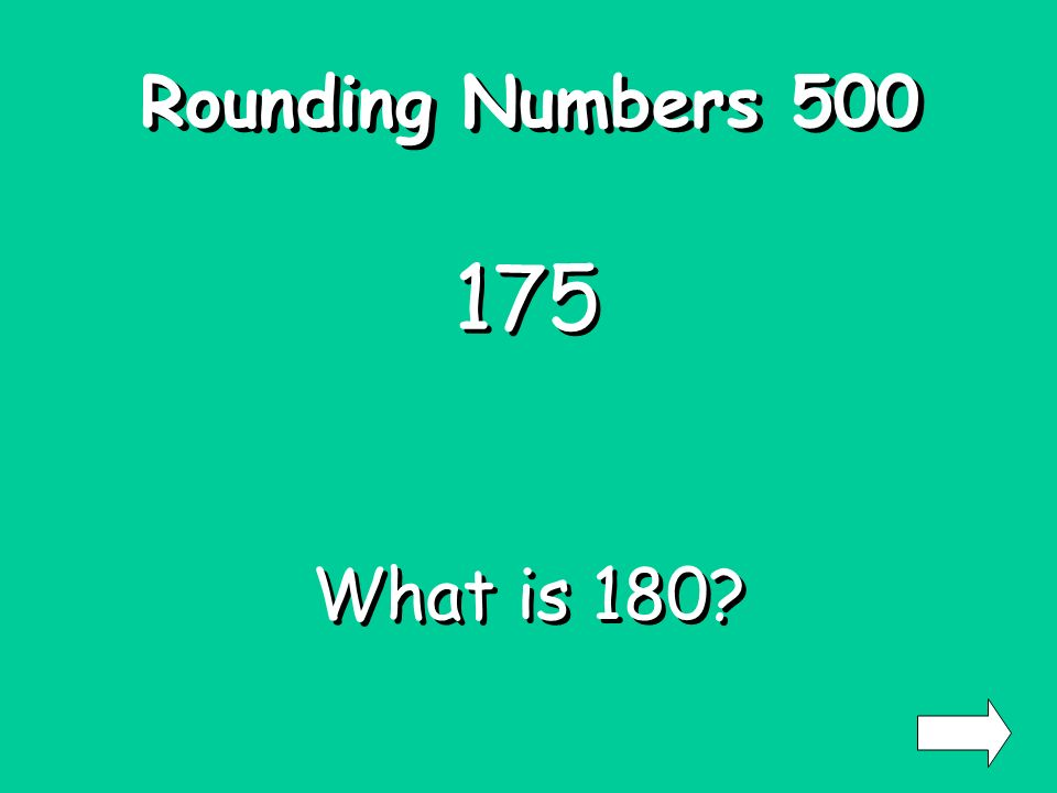 Rounding Numbers 400 126 What is 130