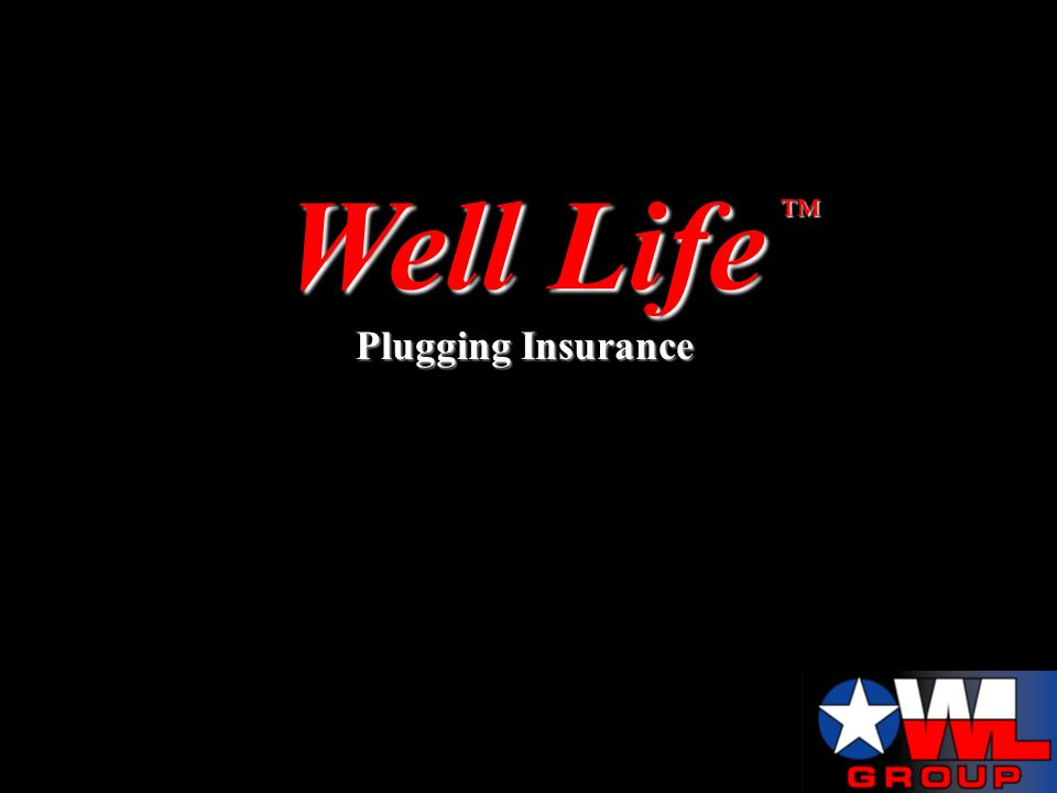 Well Life Plugging Insurance