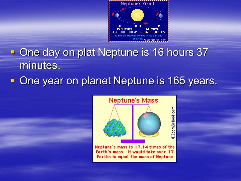 Neptune gets its name from the ancient Roman god of the sea.