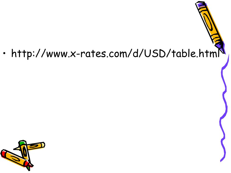 13 Http Www X Rates D Usd Table Html