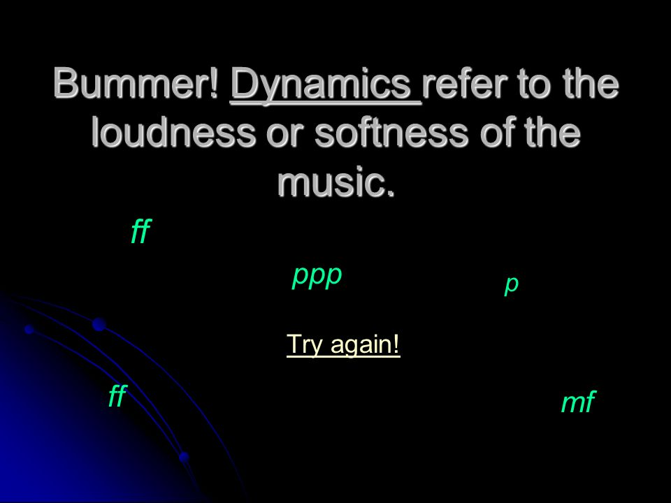 Oh yeah!! Tempo is the speed of the beat. You are ready for a new music term!