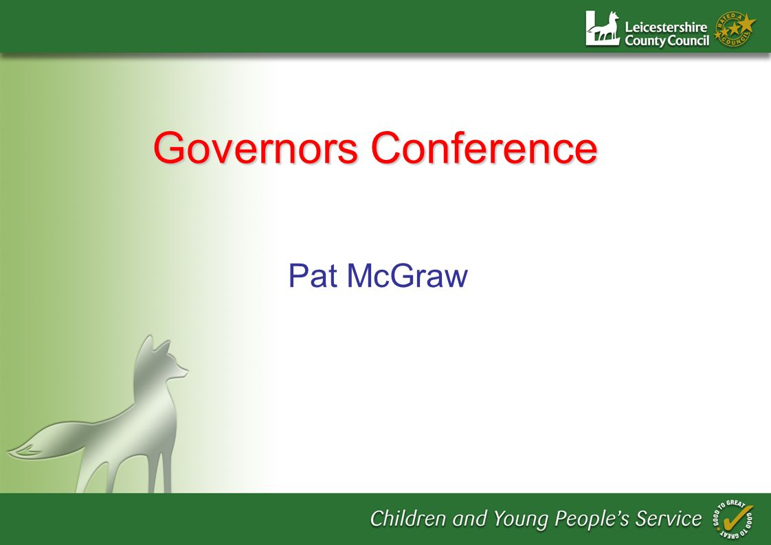 Pat McGraw Governors Conference