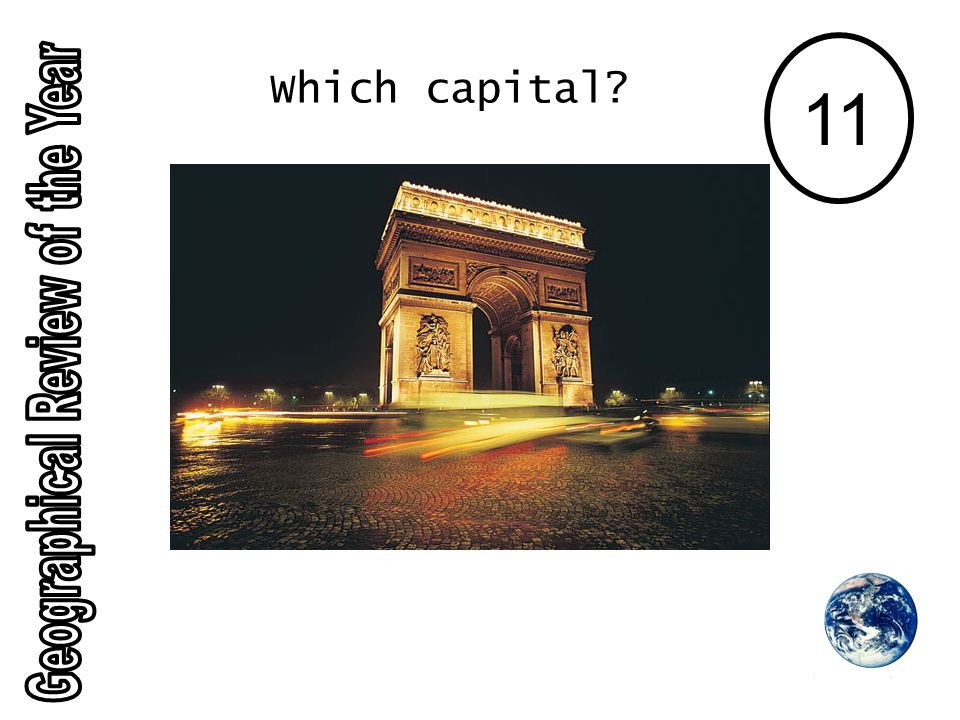 11 Which capital
