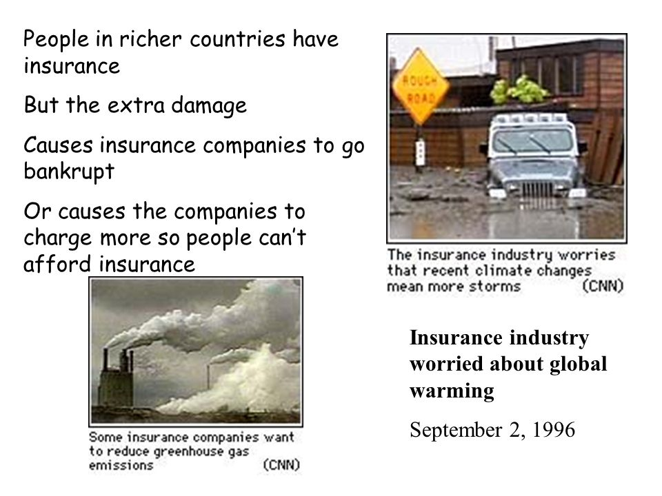 The damage can be devastating Loss of life in poor countries Expensive damage to property in richer countries