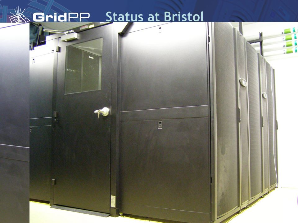 Status at Bristol Current Gridpp cluster as at August 2007