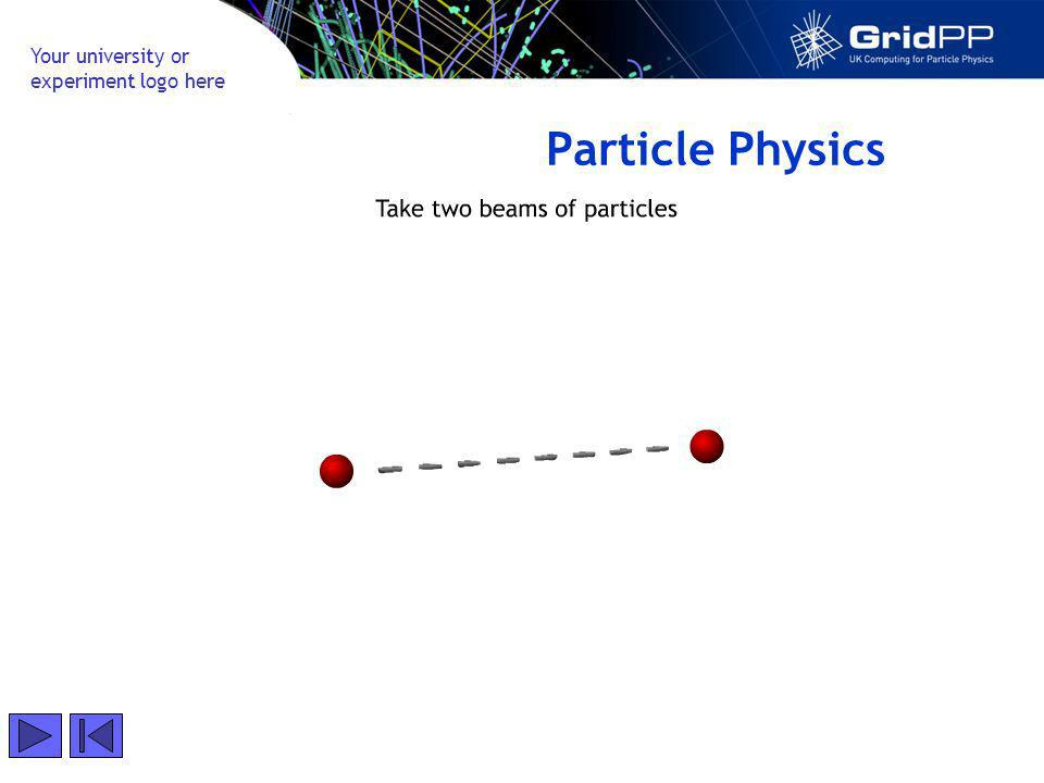 Your university or experiment logo here Particle Physics