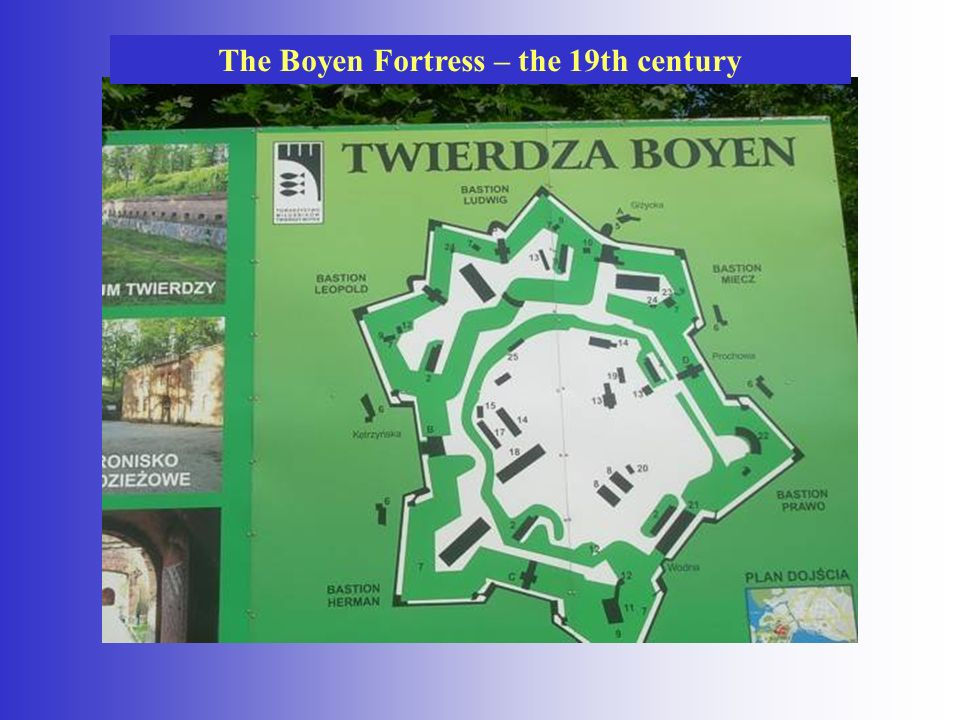The Boyen Fortress – the 19th century