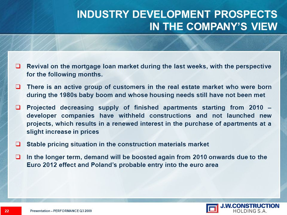 Revival on the mortgage loan market during the last weeks, with the perspective for the following months.