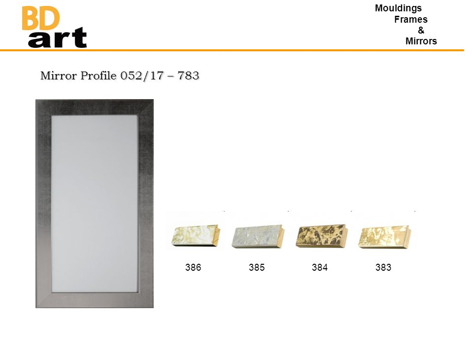 Mirror Profile 052/17 – 783 Mouldings Frames & Mirrors 386385384383