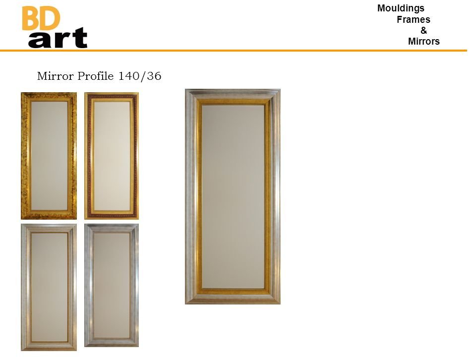 Mouldings Frames & Mirrors Mirror Profile 140/36
