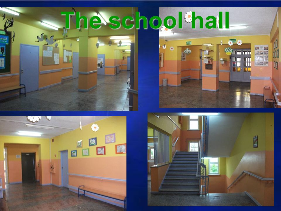 The school hall