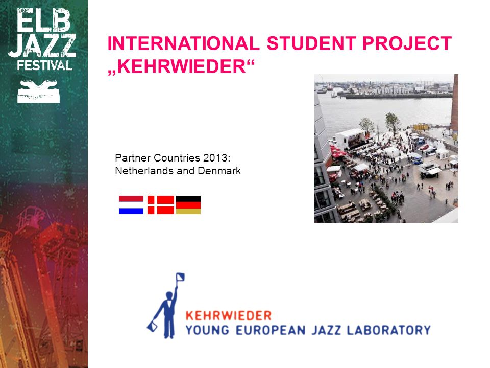 Partner Countries 2013: Netherlands and Denmark INTERNATIONAL STUDENT PROJECT KEHRWIEDER