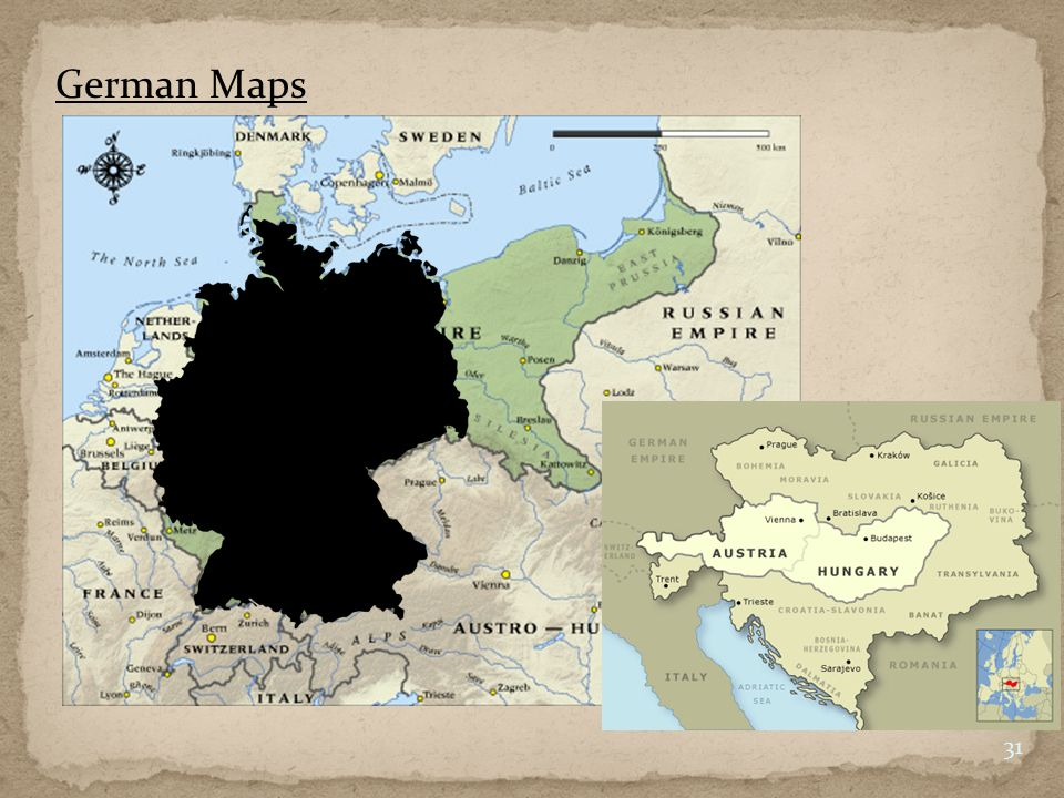 German Maps 31
