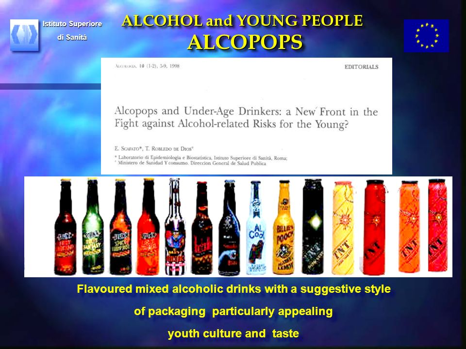 From alcopops to Alcohol Policy: reacting to threats to health of young people in Europe.