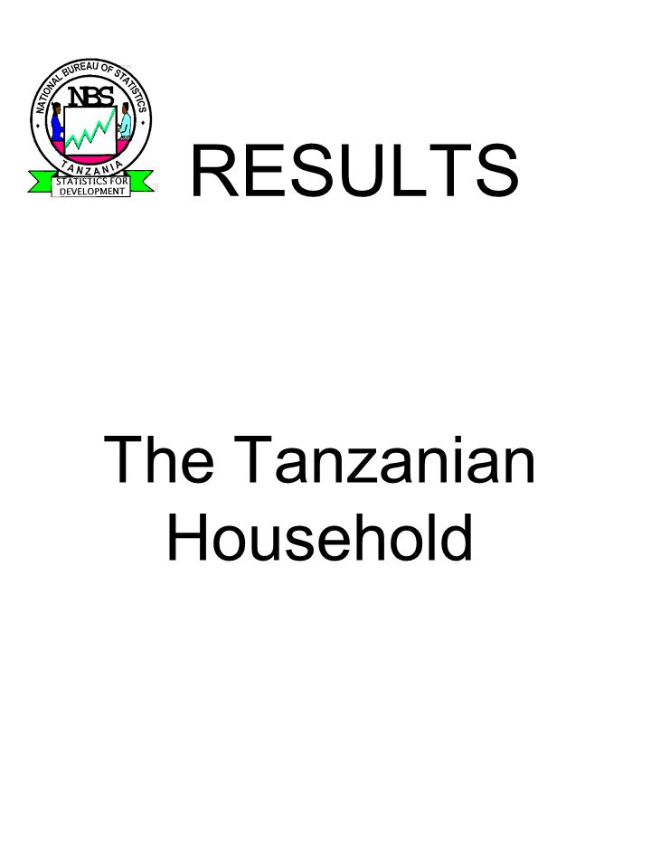 Analysis: General Issues In framework of poverty monitoring & policy: Tanzania development Vision 2025, National Poverty Eradication Strategy and the PRSP, Analysis guided by the Research and Analysis TWG and stakeholder consultations Provides a baseline for the future Describes trends in 1990s, comparing with HBS 1991/92