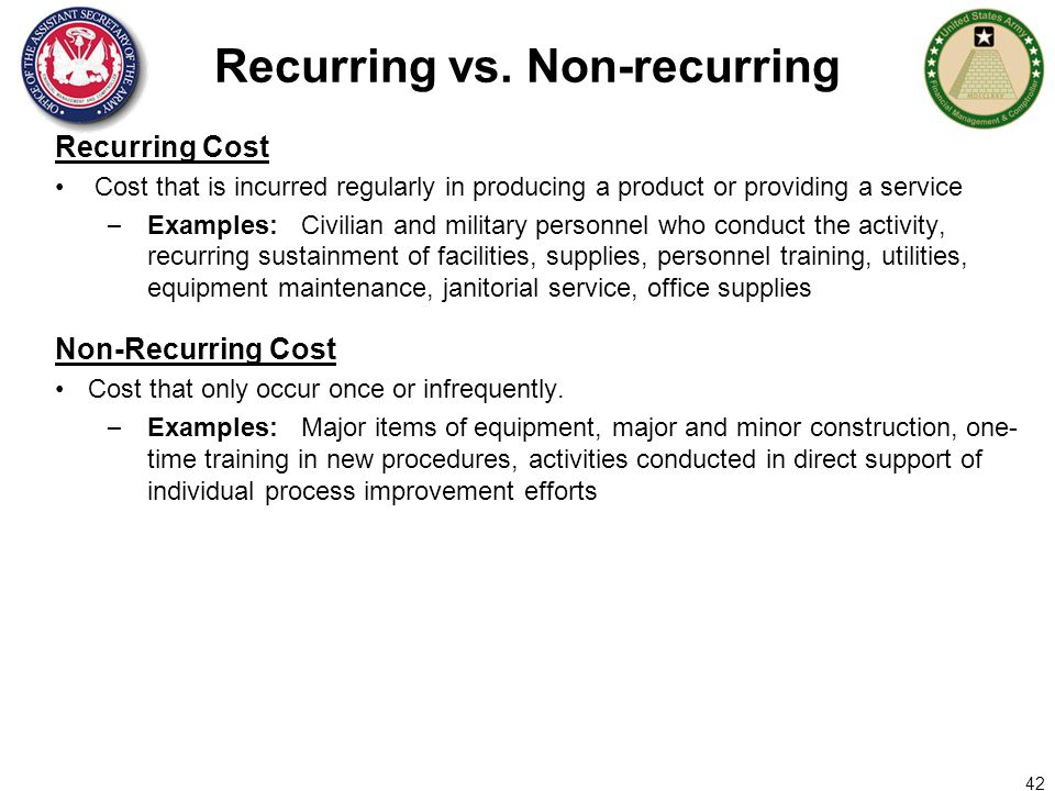 Chapter 3 initial and recurring costs   guidebook for developing.