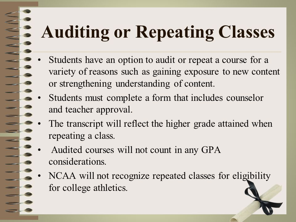 Requirements for Dual Credit Courses