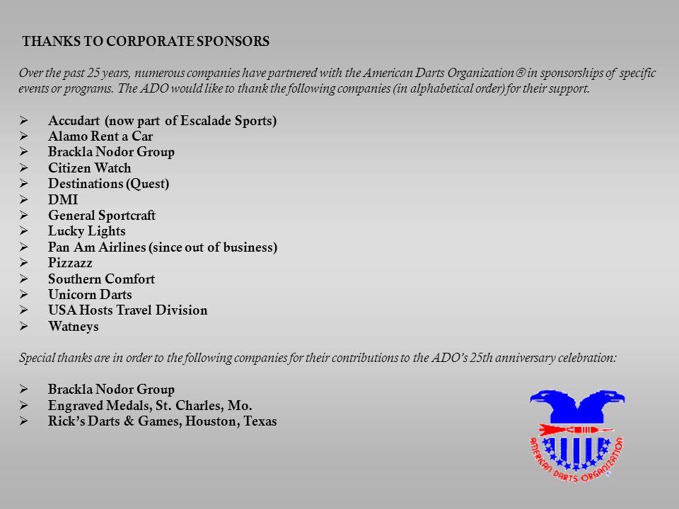 Copyright ADO Inc c  DARTS--A WORLDWIDE SPORT The American