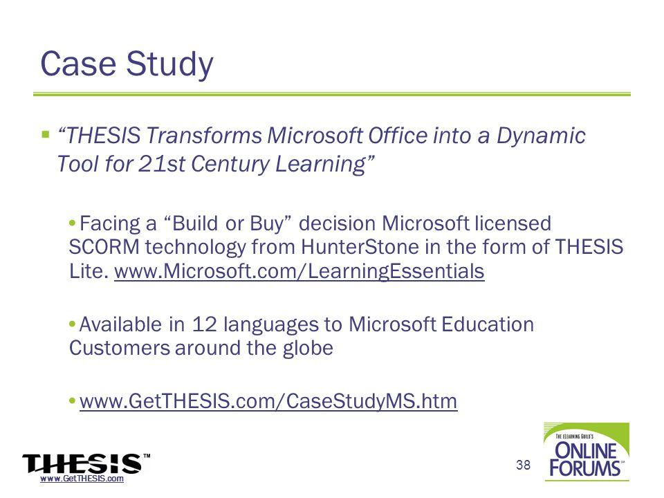 hunterstone thesis scorm tools