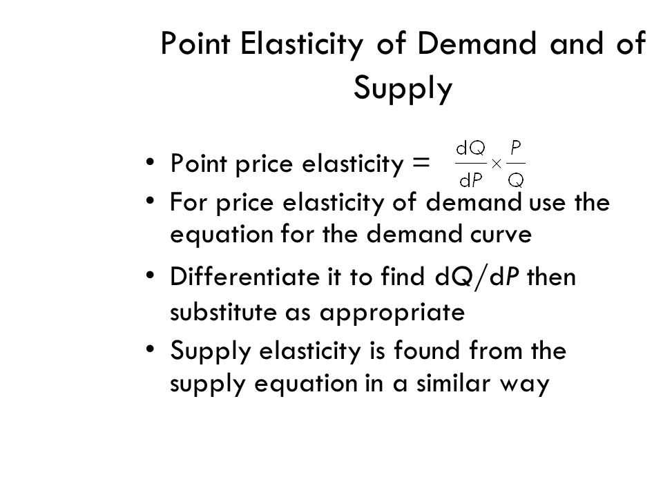 Differentiation In Economics Objectives 1 Understand That
