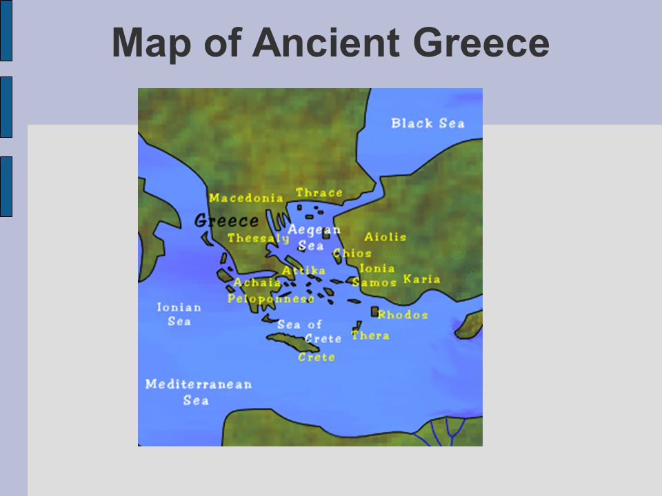 Superior 3 Map Of Ancient Greece