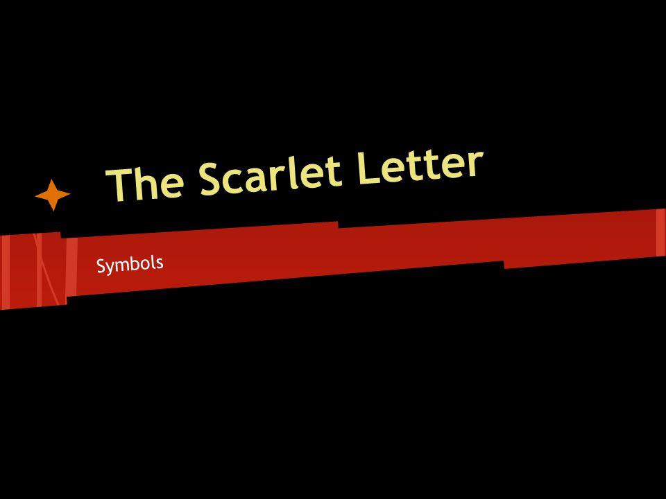 the scarlet letter symbols list