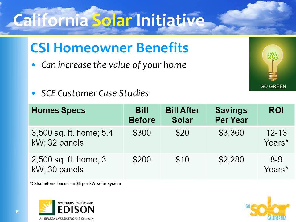 Realtor Solar Overview California Solar Initiative Updated