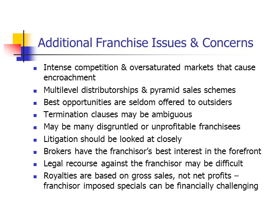 Chapter 14: Investigating Franchising - Reading Between the