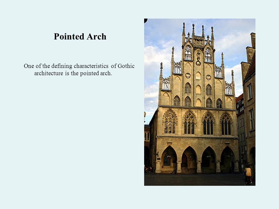 6 Pointed Arch One Of The Defining Characteristics Gothic Architecture Is