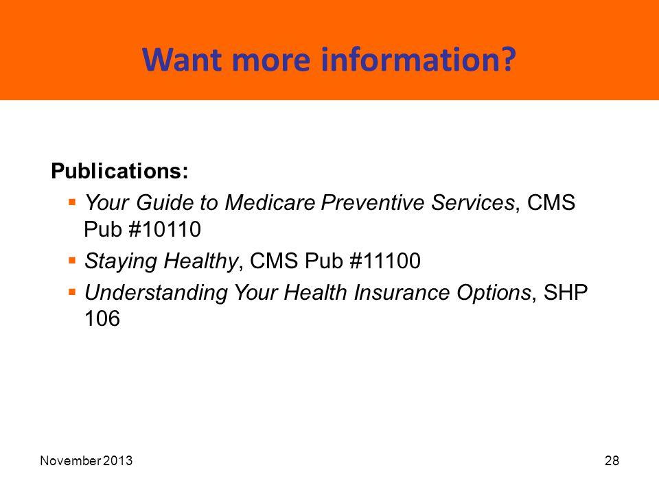 guide to medicare s preventive health benefits shiba statewide rh slideplayer com Medicare Preventive Services Quick Guide Medicare Preventive Visits