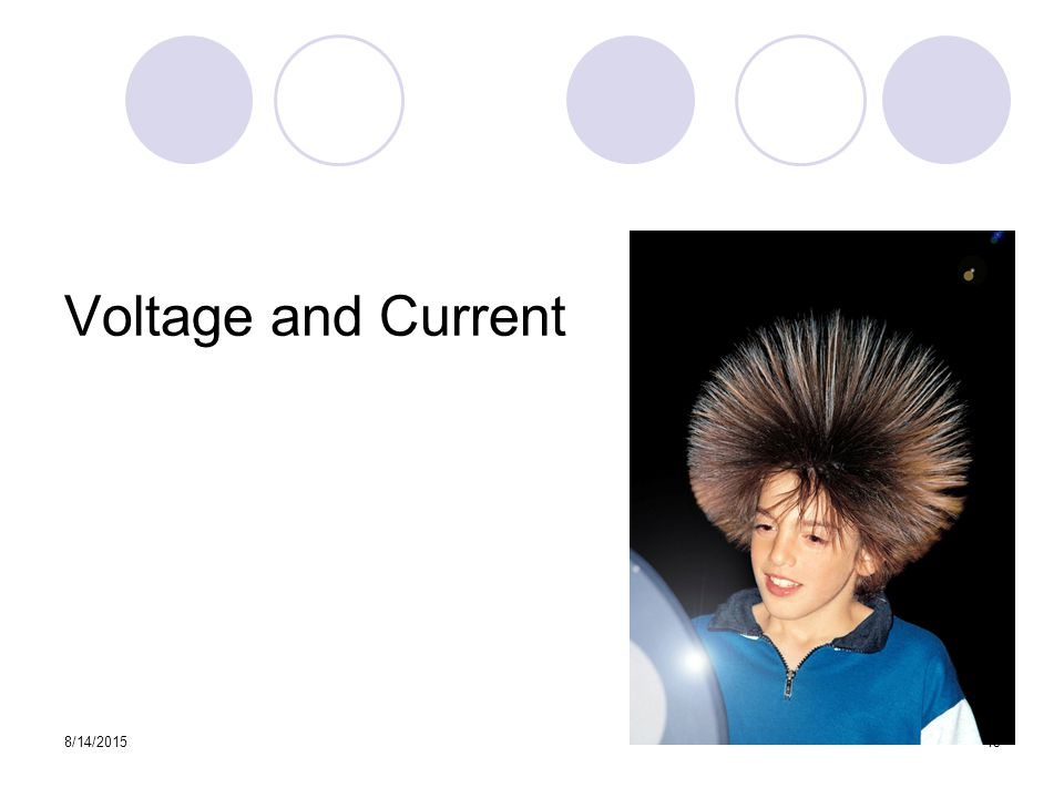 8/14/ Voltage and Current