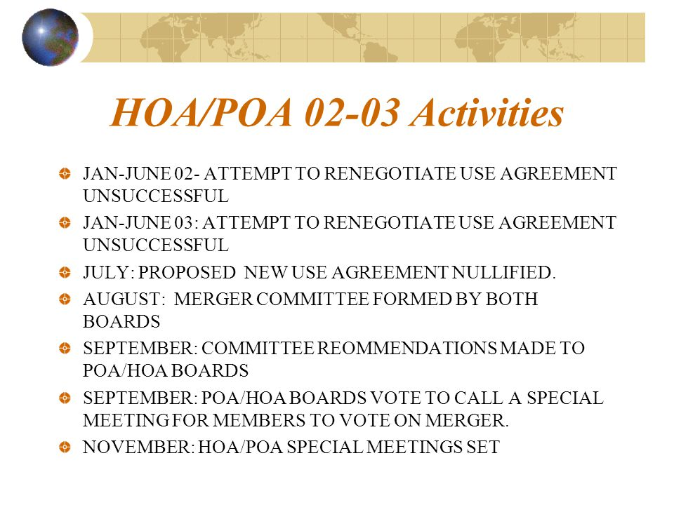Hoapoa Joint Meeting And Merger Discussion October 9 Ppt Download