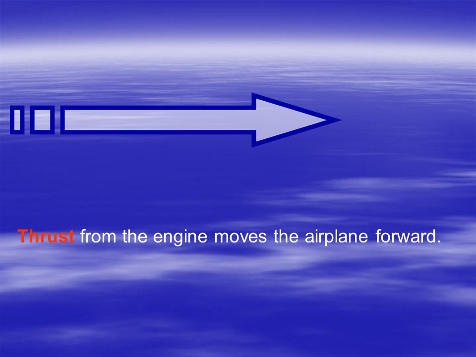 Thrust  The goal of a jet engine is to produce thrust.