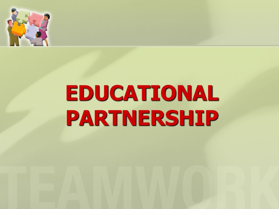 EDUCATIONAL PARTNERSHIP