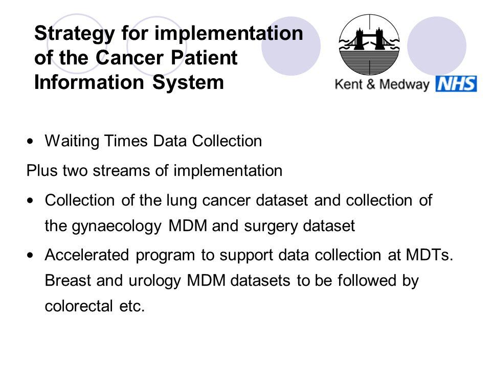 Kent & Medway Cancer Network Thames Cancer Registry Cancer