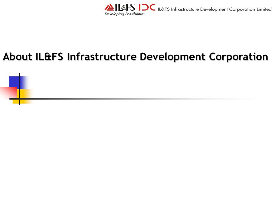 About IL&FS Infrastructure Development Corporation